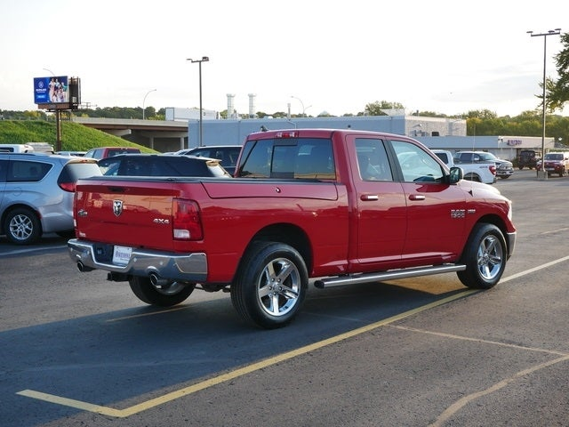 Certified 2018 RAM Ram 1500 Pickup Big Horn with VIN 1C6RR7GT1JS309012 for sale in Owatonna, Minnesota