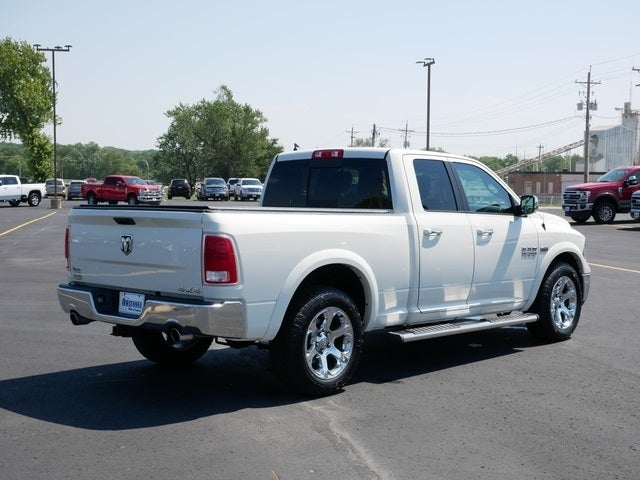 Certified 2017 RAM Ram 1500 Pickup Laramie with VIN 1C6RR7JT6HS515686 for sale in Owatonna, Minnesota
