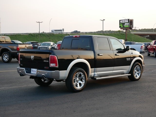 Used 2014 RAM Ram 1500 Pickup Laramie with VIN 1C6RR7NMXES353916 for sale in Owatonna, Minnesota