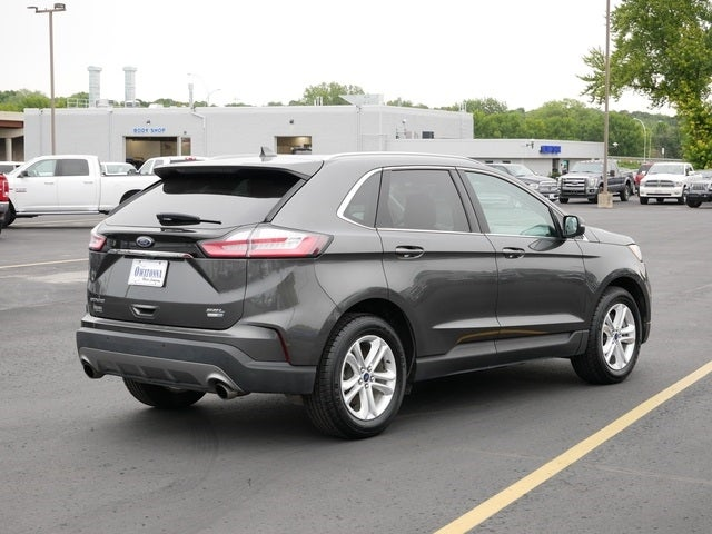 Used 2020 Ford Edge SEL with VIN 2FMPK4J92LBA77447 for sale in Owatonna, Minnesota