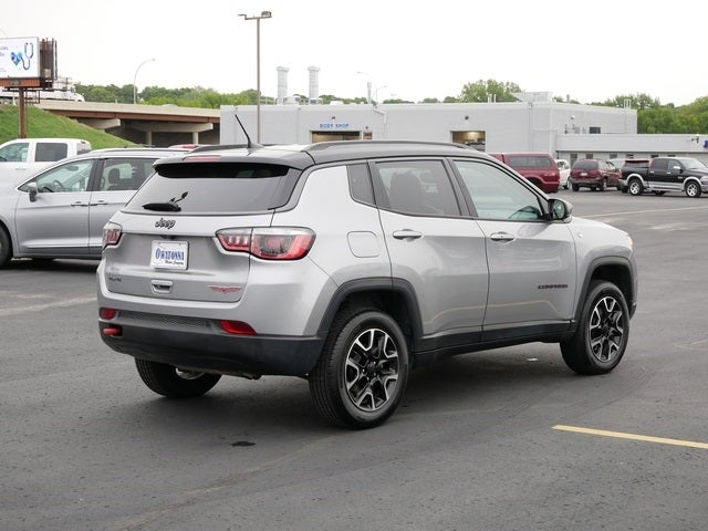 Certified 2020 Jeep Compass Trailhawk with VIN 3C4NJDDB7LT195639 for sale in Owatonna, Minnesota