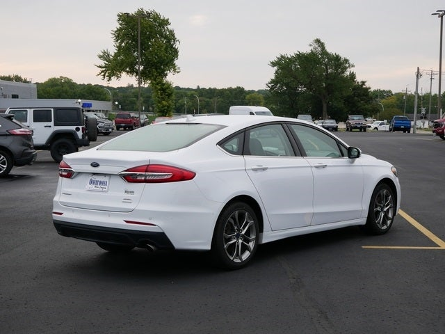 Used 2020 Ford Fusion SEL with VIN 3FA6P0CD7LR154526 for sale in Owatonna, Minnesota